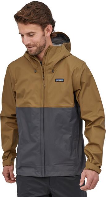 Patagonia Torrentshell 3L Jacket Men coriander brown   Gode